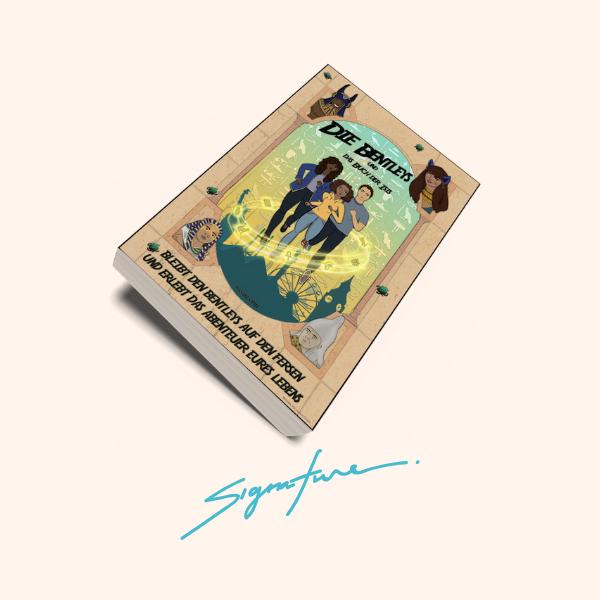 Die Bentleys - Taschenbuch mit Signatur
